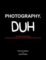 Shannon Kalahan, David Passillas, ebook, photography, landscap photography